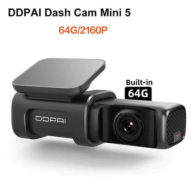 DDPAI-Cámara de salpicadero Mini 5 UHD DVR para coche