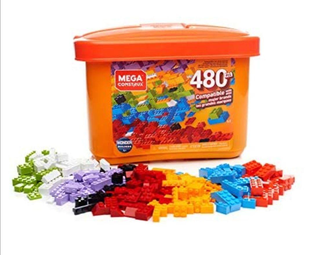Caja Mega Construx de 480 piezas