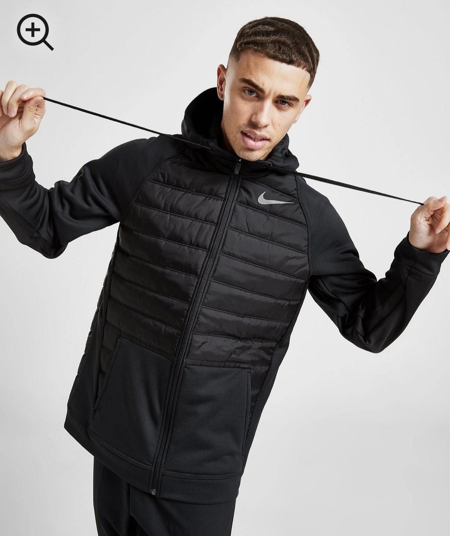 Nike chaqueta con capucha Training Hybrid