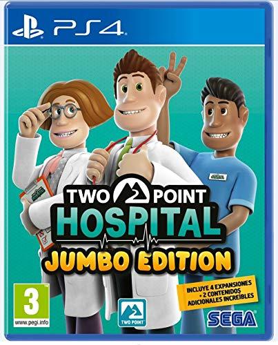Two Point Hospital Jumbo Edition PS4 - Físico Amazon