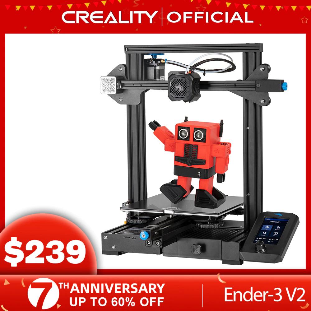 Impresora 3D Creality Ender 3 V2 - Desde España - APP Aliexpress