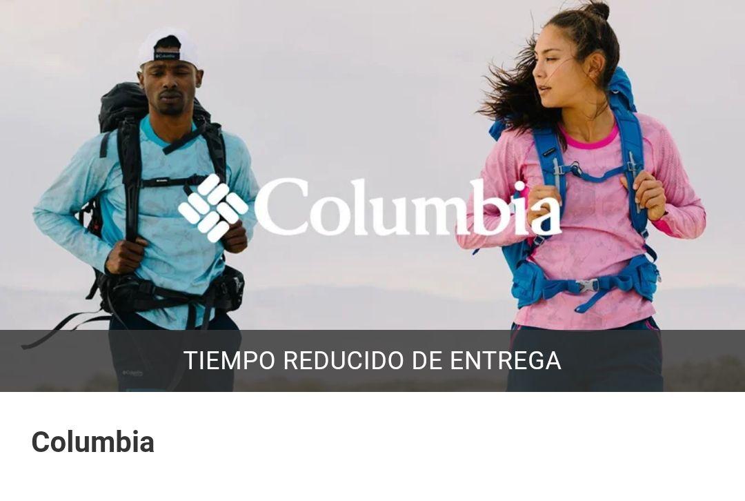 Hasta 75% de descuento en Columbia.