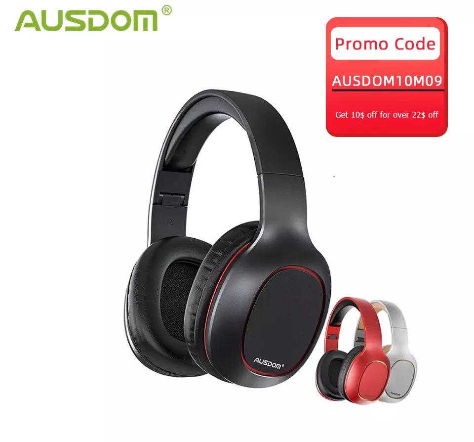 AUSDOM-auriculares inalámbricos M09 con Bluetooth