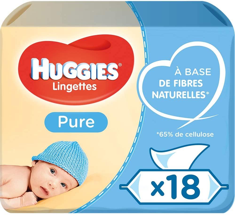 Toallitas Huggies 18 paquetes solo 15.1€