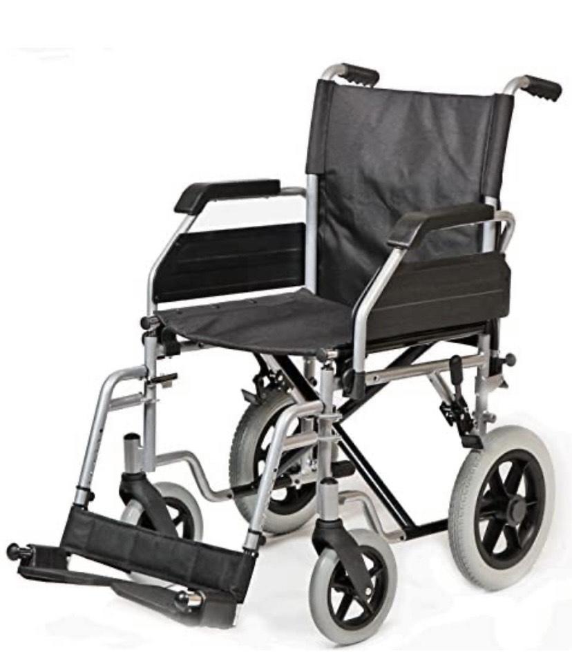 """Silla plegable""""apolo"""" rueda 300,talla 43 cm"""
