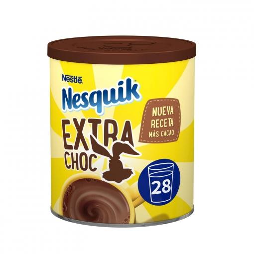 8 botes - Nestlé Nesquik extra chocolate.