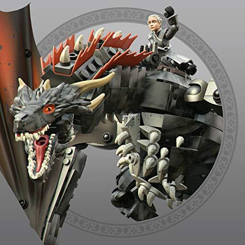 Mega Construx Juego de Tronos bloques de construcción Drogon (Mattel GKG97)