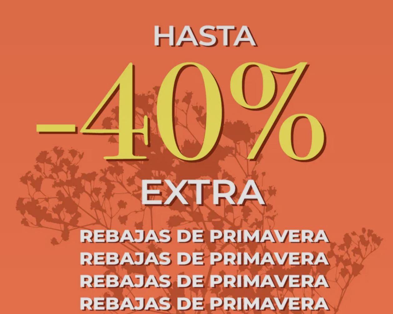 REBAJAS PRIMAVERA [-40% EXTRA]