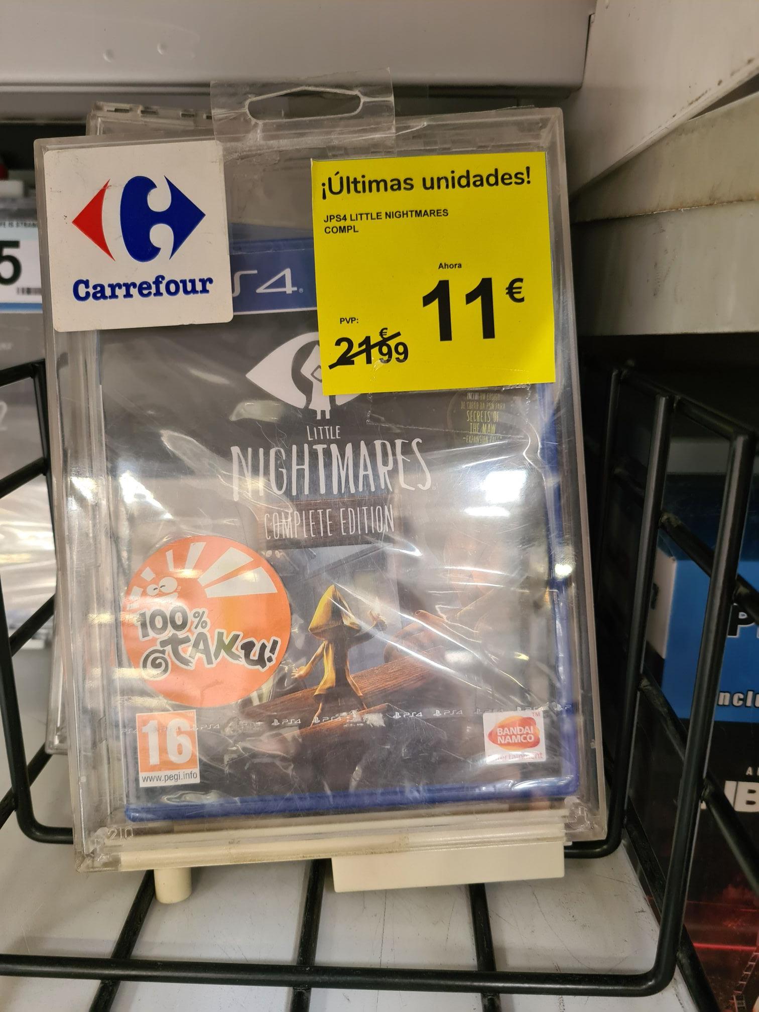 Little nightmares complete PS4