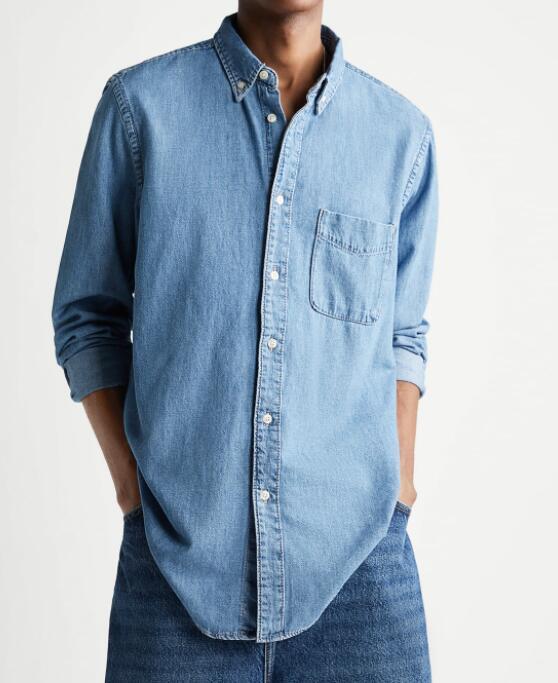 Camisa denim Zara 5 colores