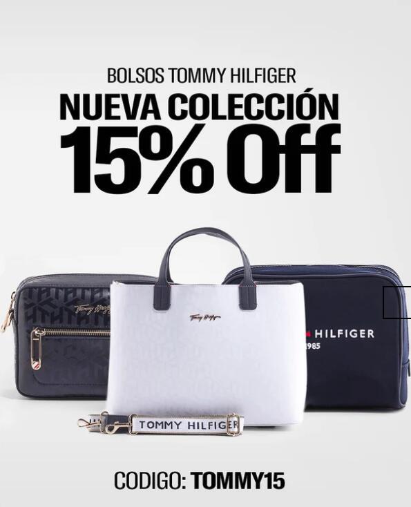 ¡15% DTO TOMMY HILFIGER en toda la nueva colección de Bolsos y Mochilas!