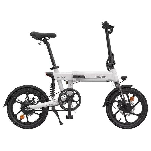 HIMO-bicicleta eléctrica plegable Z16, urbana, para exteriores, con Motor de 250W, CC, 25 km/h, 80KM de alcance