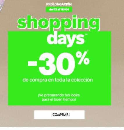 PIMKIE -Shopping days -30% dto.