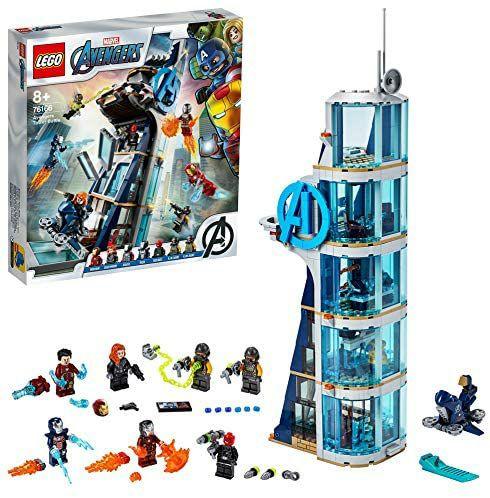 Lego 76166 Batalla en la torre de los Vengadores