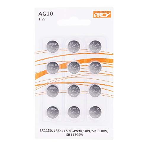 12 Pilas AG10 - LR1130 (otros modelos al mismo precio)