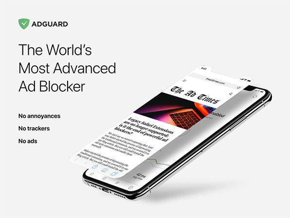 AdGuard: Suscripción de por vida (3 dispositivos)
