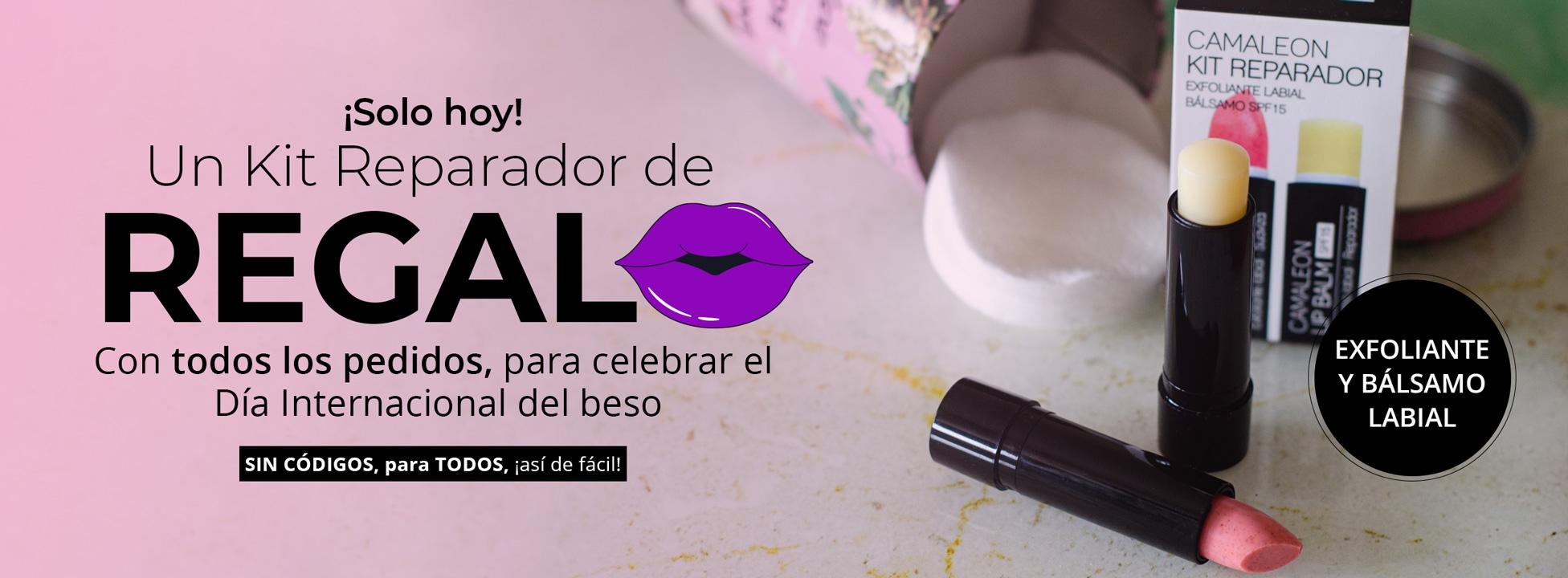Sólo hoy!!! Kit reparador de labios de regalo