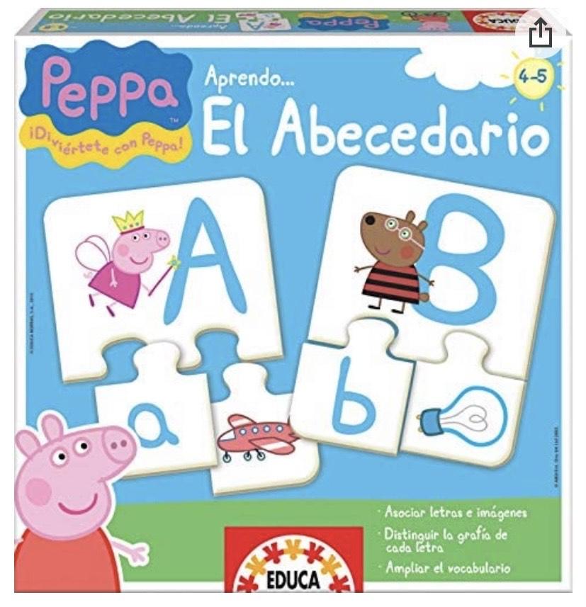 Educa - El abecedario Peppa Pig