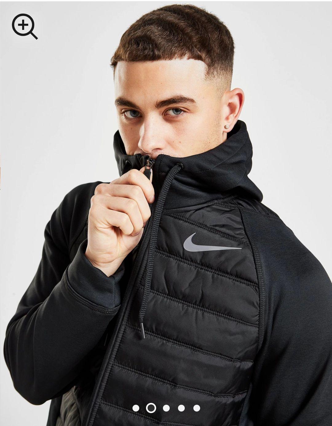 Nike chaqueta con capucha Training Hybrid talla S