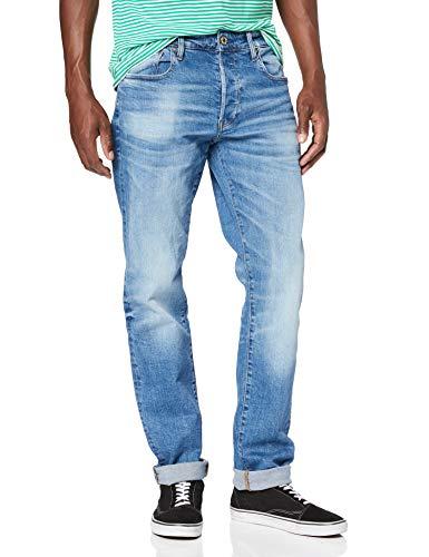 G-STAR RAW 3301 Straight Jeans Vaqueros para Hombre Talla 28