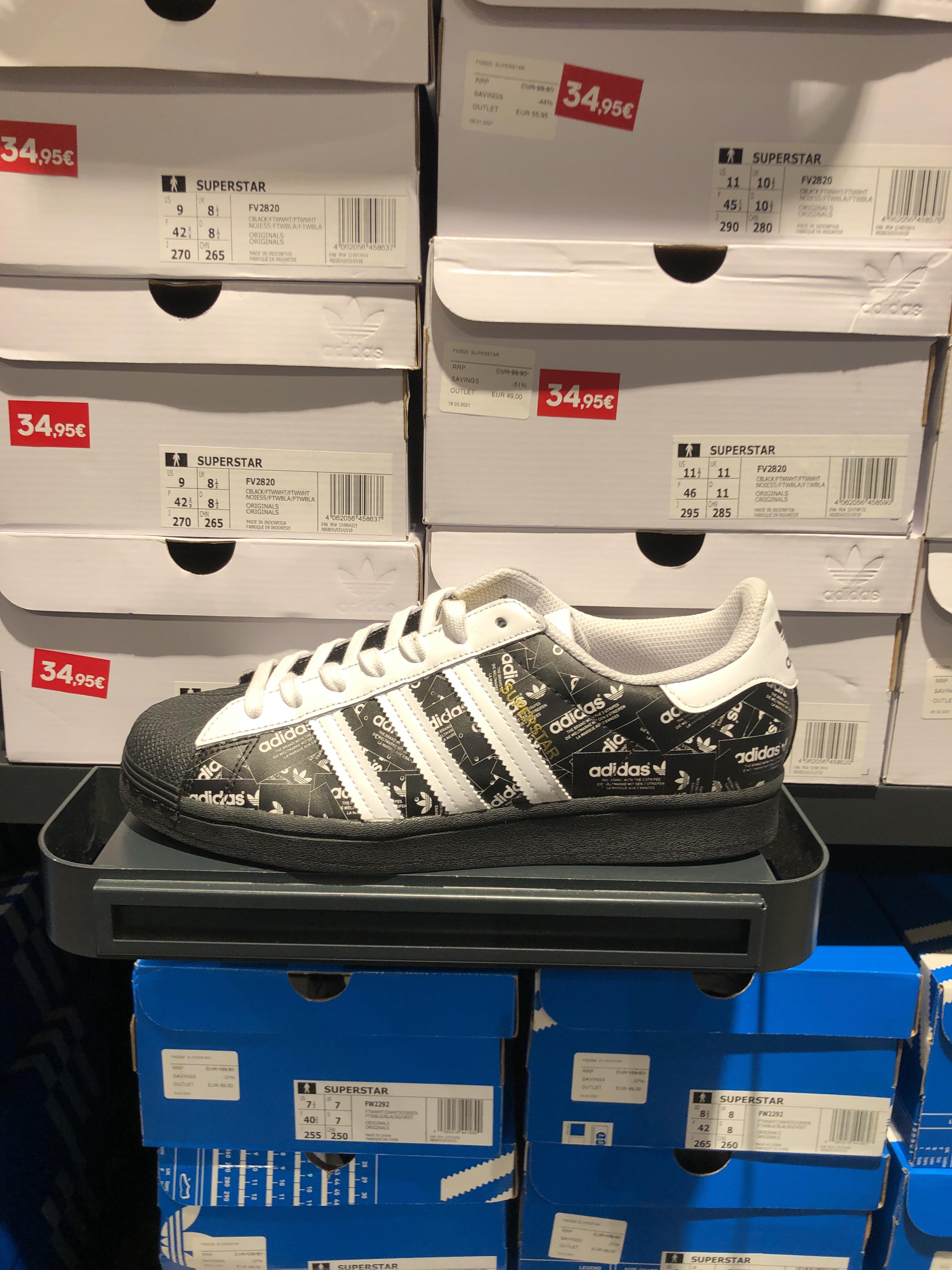 Adidas Originals SUPERSTAR FV2820 (Outlet S.S. Reyes)