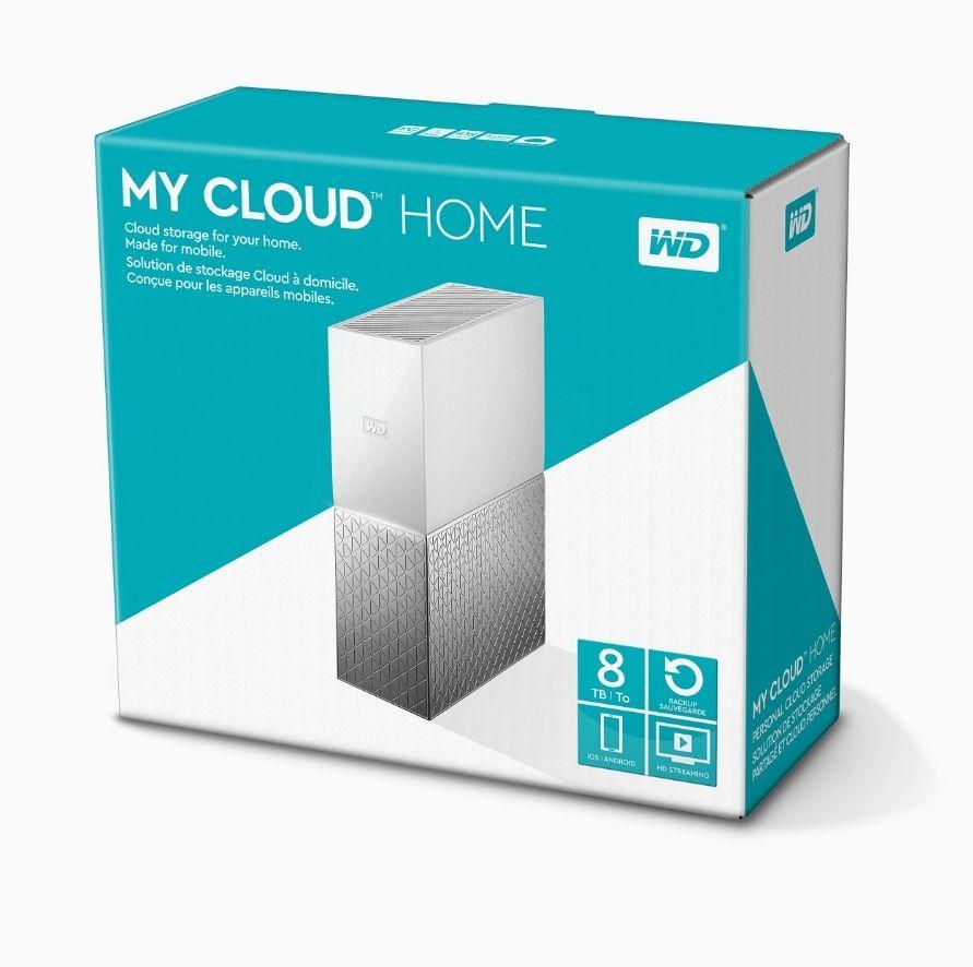 Western Digital My Cloud Home Almacenamiento en la nube, 8 TB