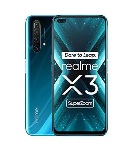 Realme X3 Super Zoom - Smartphone 12GB RAM + 256GB ROM, Dual Sim, Glacier Blue [Versión ES/PT]