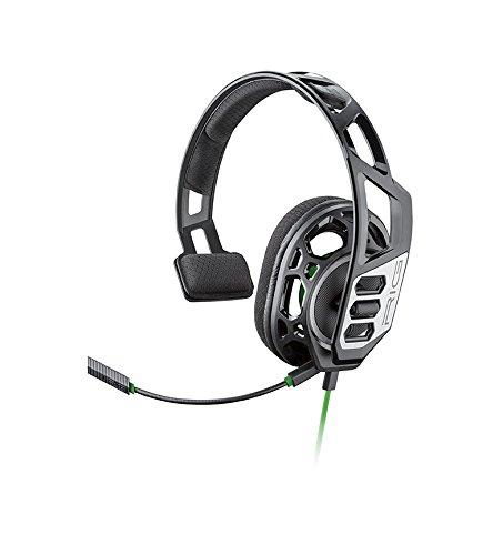 Plantronics RIG 100HX Monoaural Diadema Negro, Gris auricular con micrófono - Auriculares con micrófono