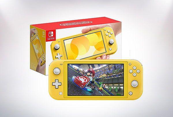 Nintendo Switch Lite (Amarilla)