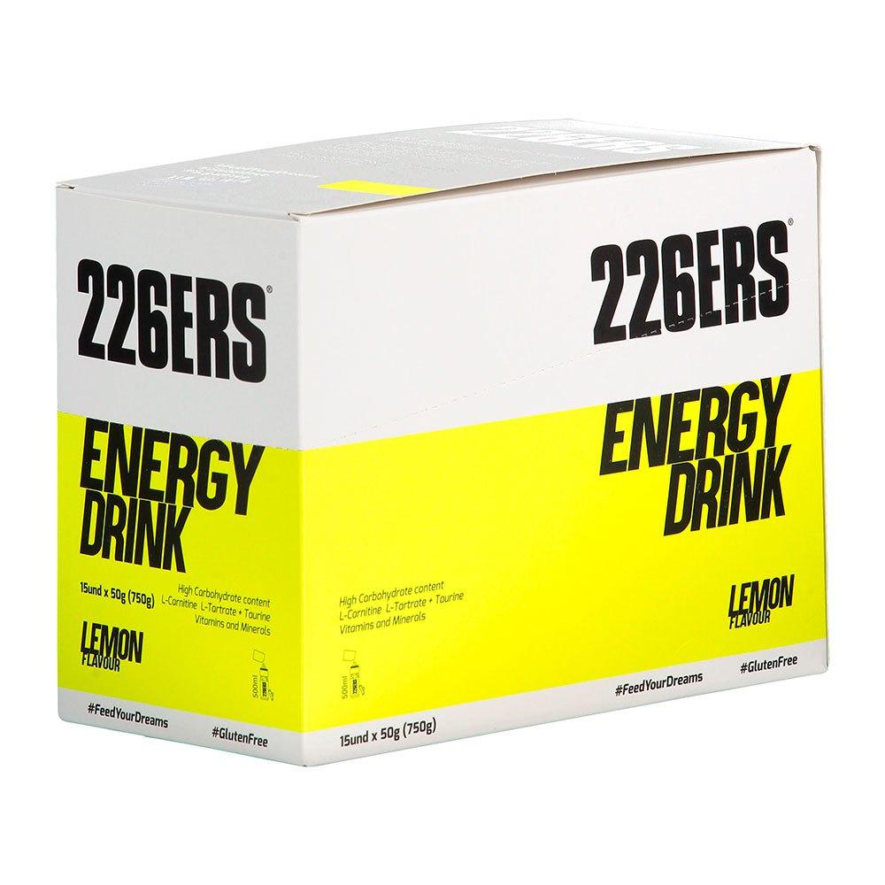 Bebidas energéticas 226ERS 50gr 15 Unidades Limón