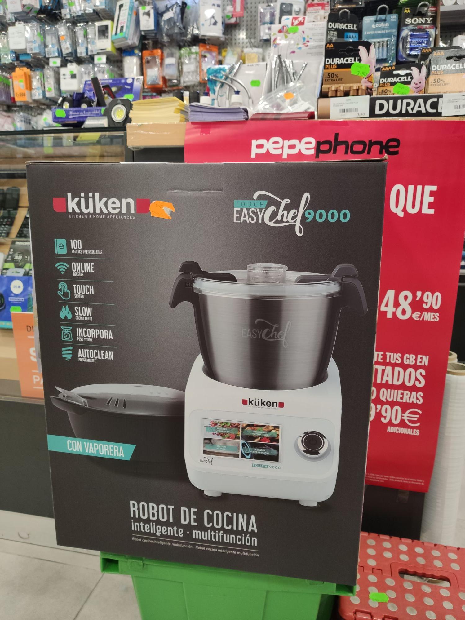 Robot de cocina similar a Monsieur Cuisine