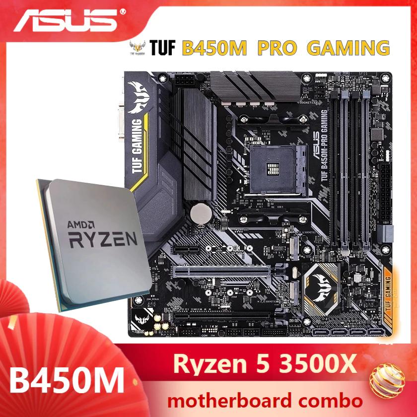 Kit Ryzen 3500x + Gigabyte B450M PRO