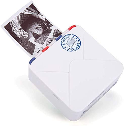 Impresora Térmica de Fotos Impresora portátil con Bluetooth (precio al realizar compra descontado en 20€)