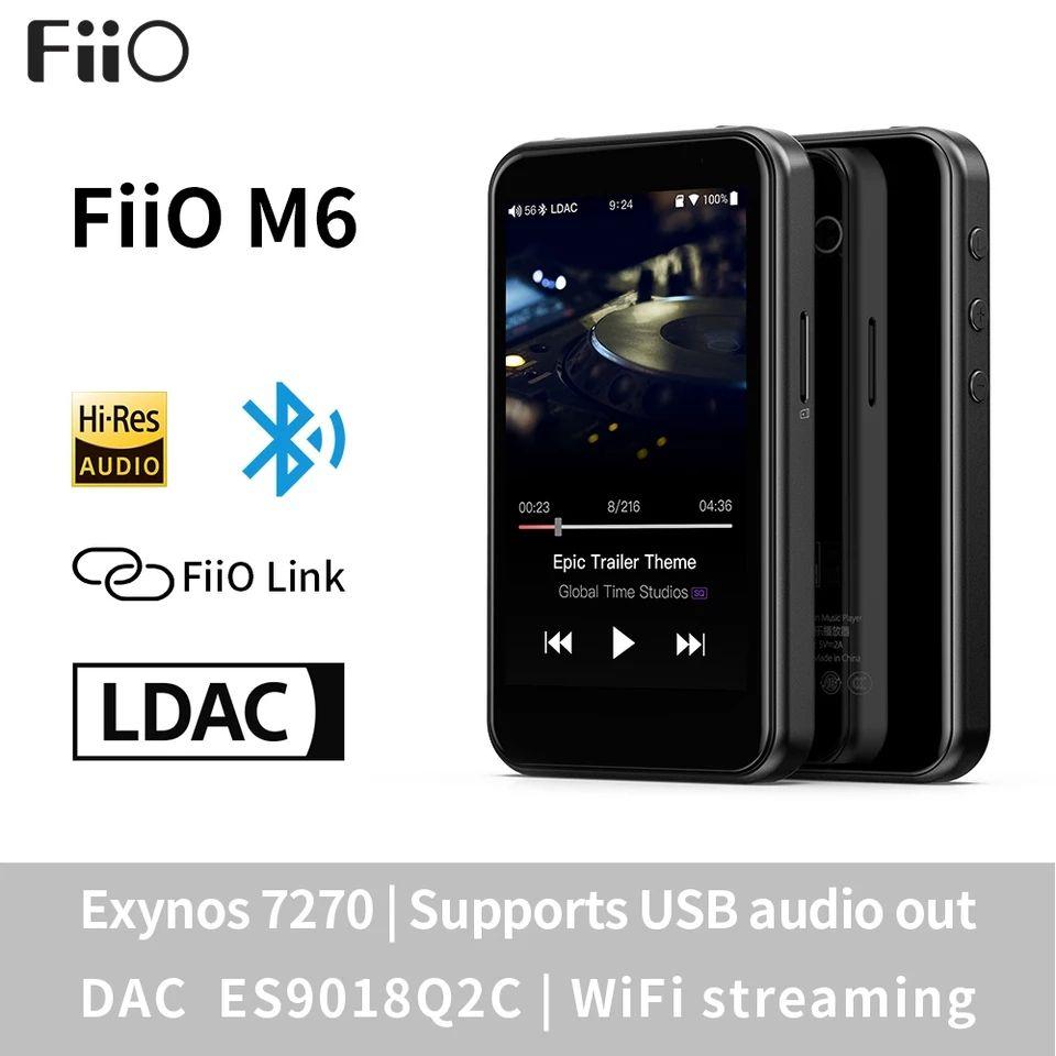 FiiO M6, el reproductor Hi-Res imbatible