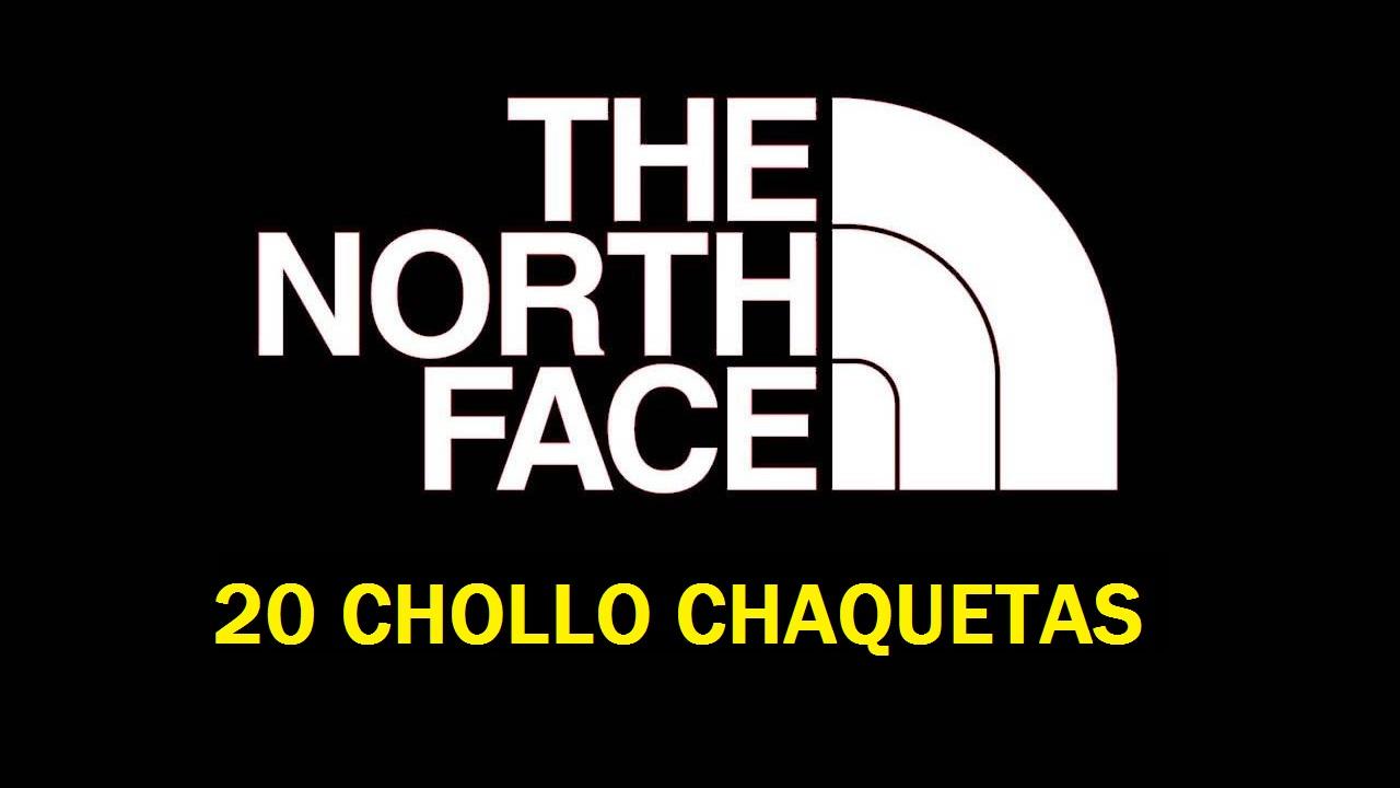 20 CHOLLO Chaquetas The North Face para Hombre y Mujer