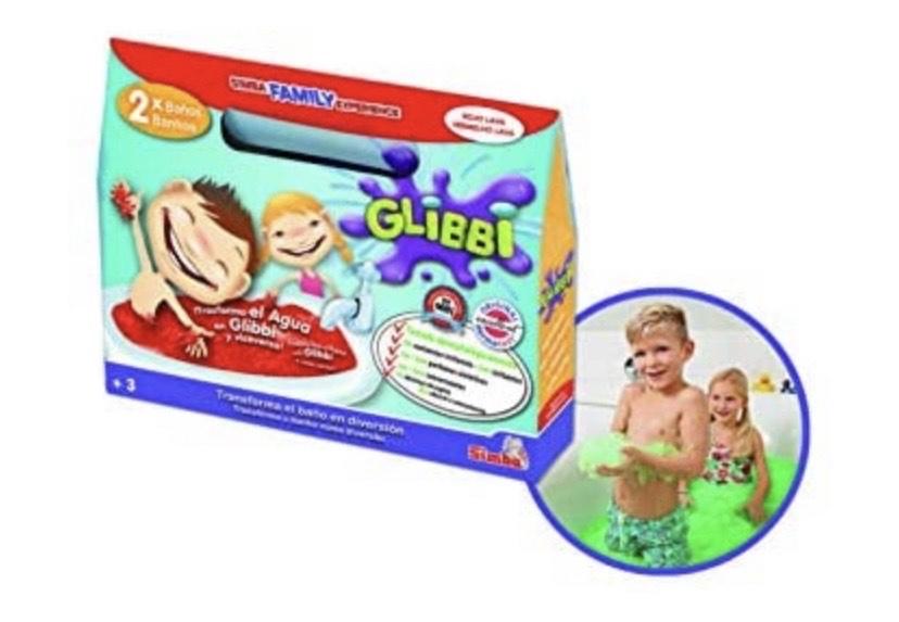 Glibbi - Sales para baño divertido
