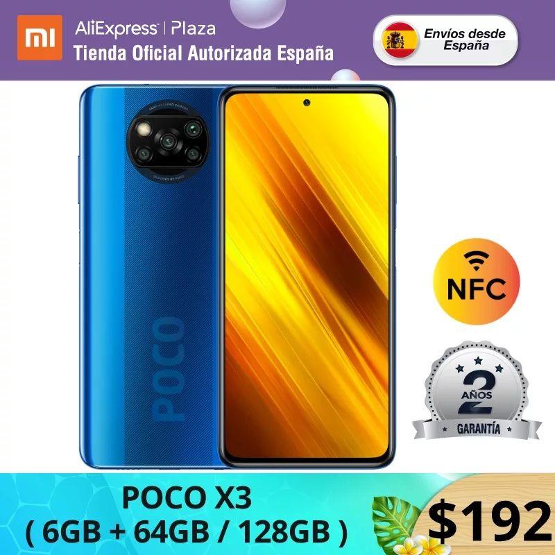Xiaomi Poco X3 NFC 6/128GB desde España