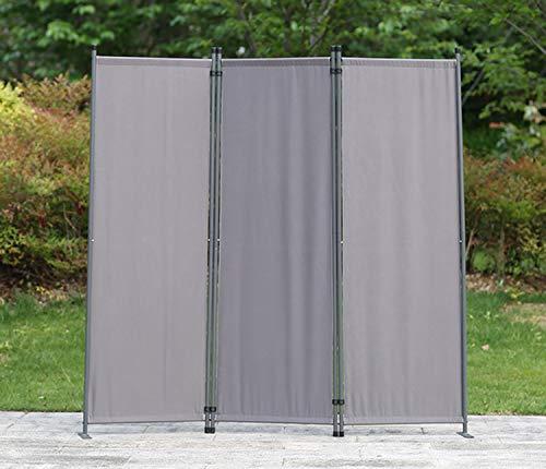 Biombo Separador de 3 Paneles 169X165 cm