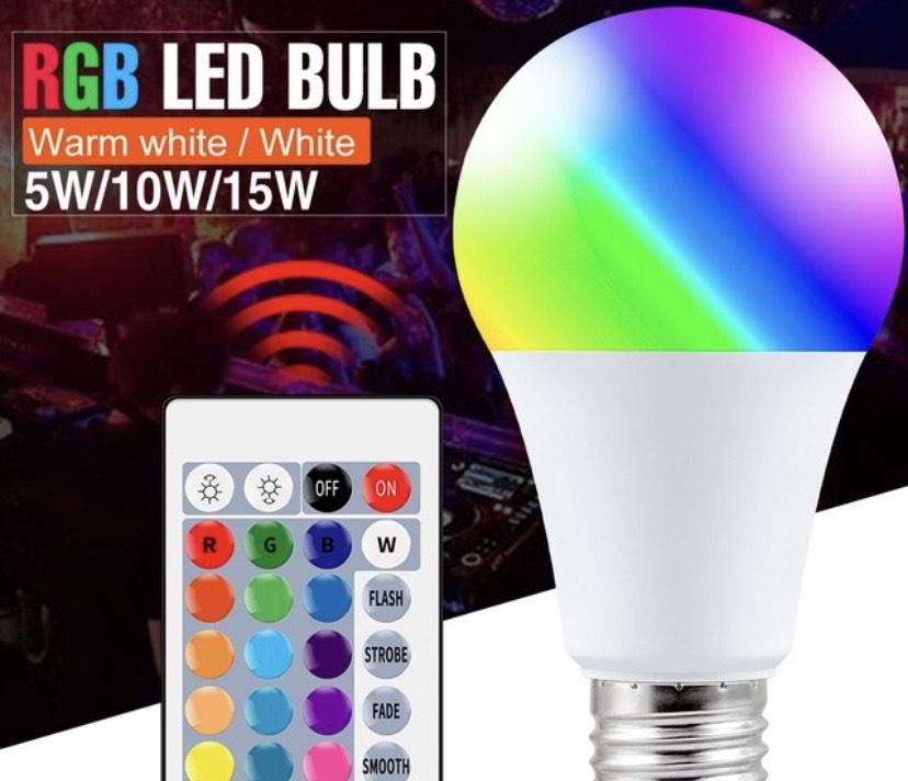 Bombilla led RGB 5W