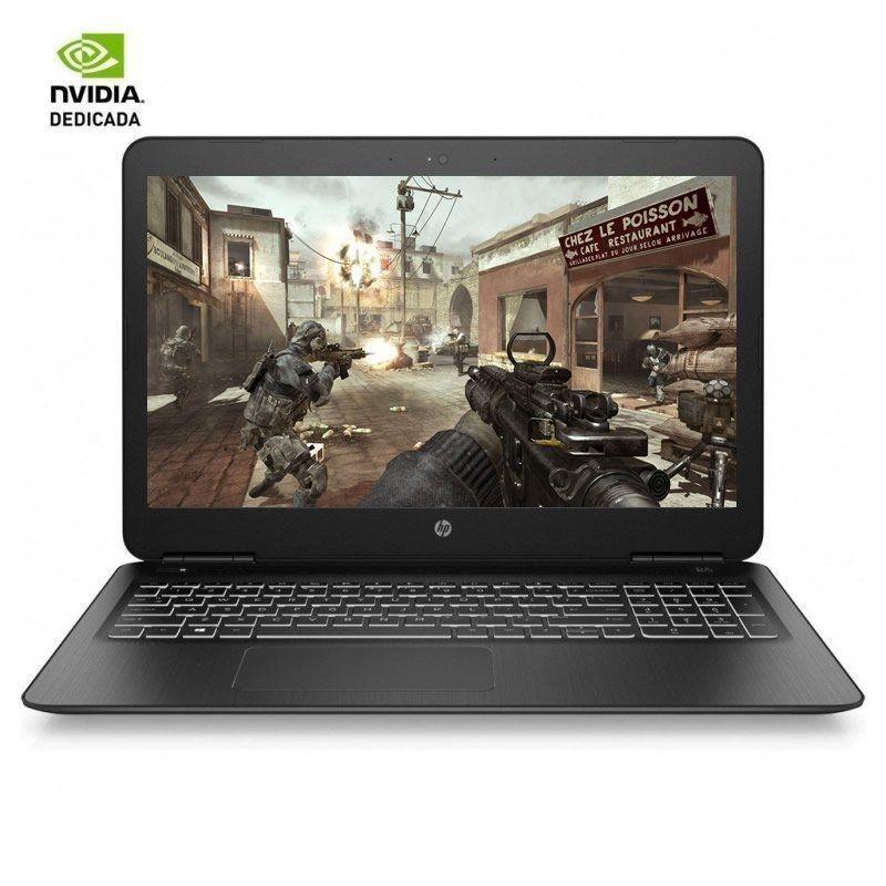 PORTÁTIL HP - I5-8300H 2.3GHZ - 8GB - 1TB+128SSD - GEFORCE GTX1050 4GB