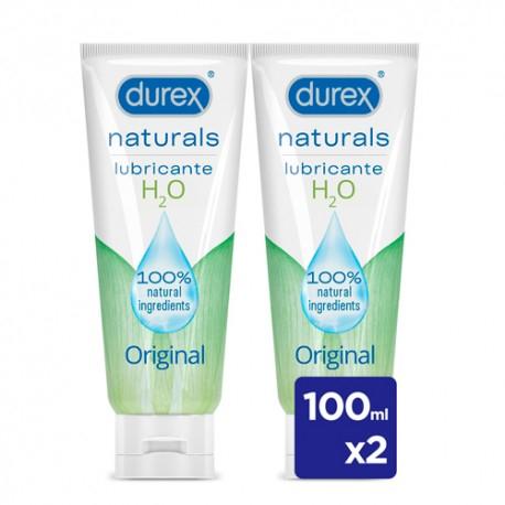Lubricante natural Durex doble