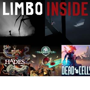 Hades, Transistor, Dead Cells, Limbo, Inside (Nintendo Switch)