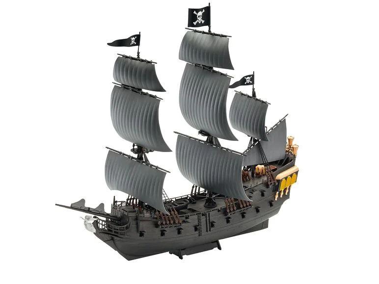 Maqueta Barco Pirata Revell Easy Click La Perla Negra