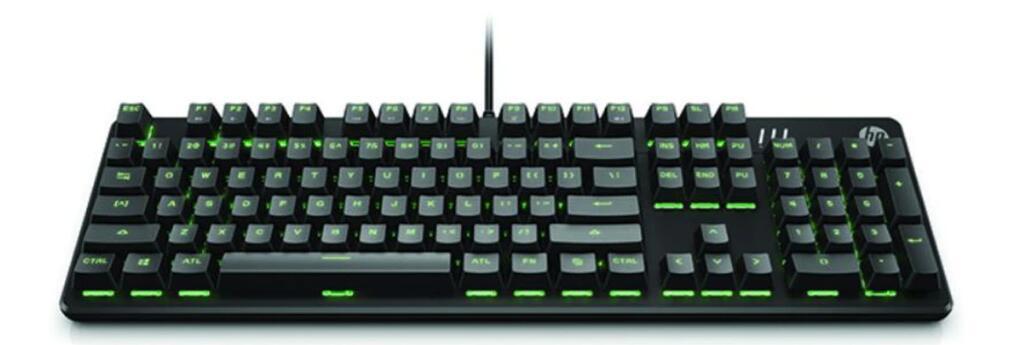 Teclado gaming HP 550