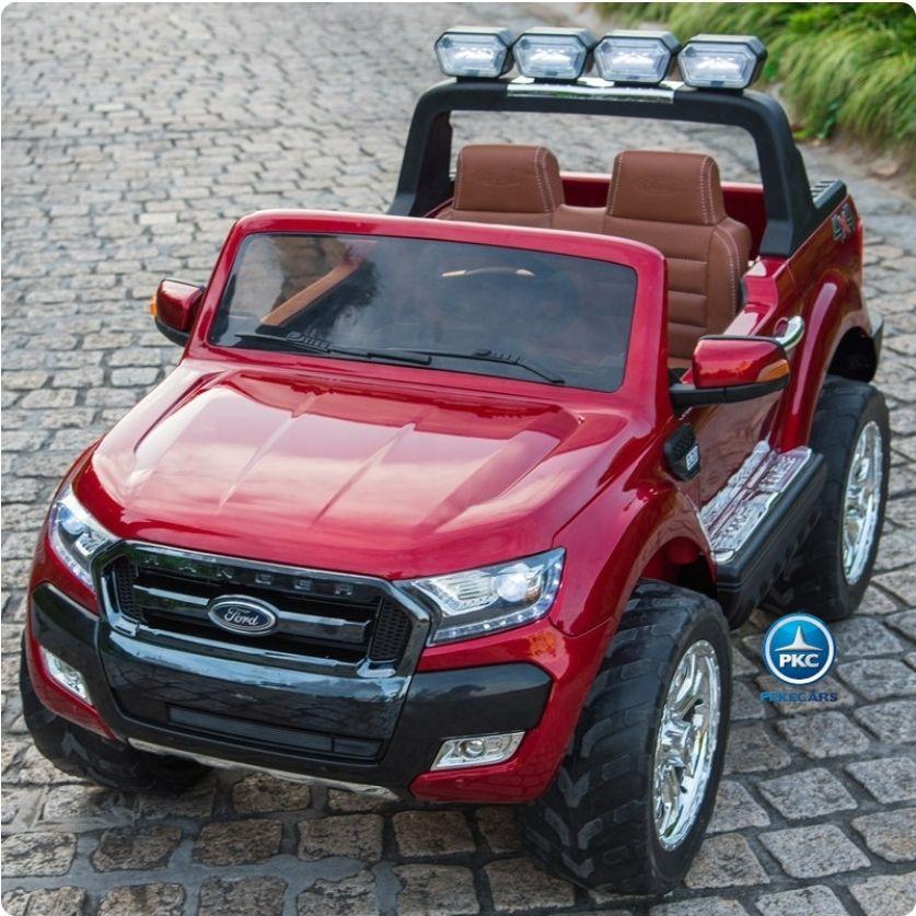 Ford Ranger Versión Superior Con Mp4 12V 2.4G Rojo