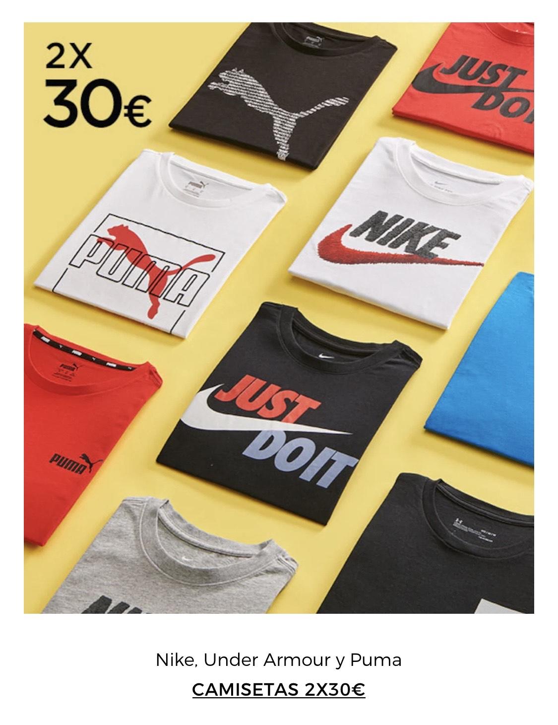 Camisetas 2X30€ 8 Días De Oro Ropa Deportiva