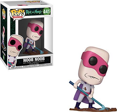 FUNKO 35593 Pop Vinyl: Animation: Rick & Morty Noob, Multi