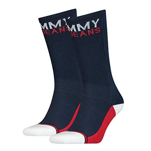 Tommy Hilfiger calcetines (Pack de 2) Unisex adulto