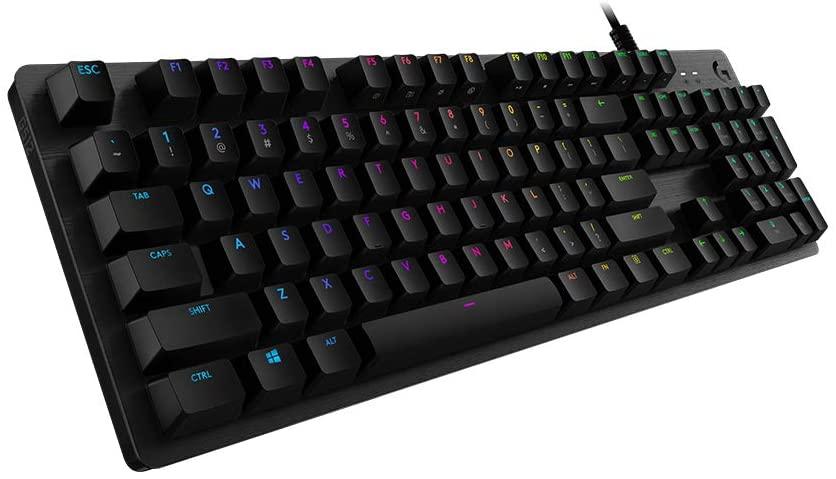Logitech G512 teclado mecánico solo 75.4€