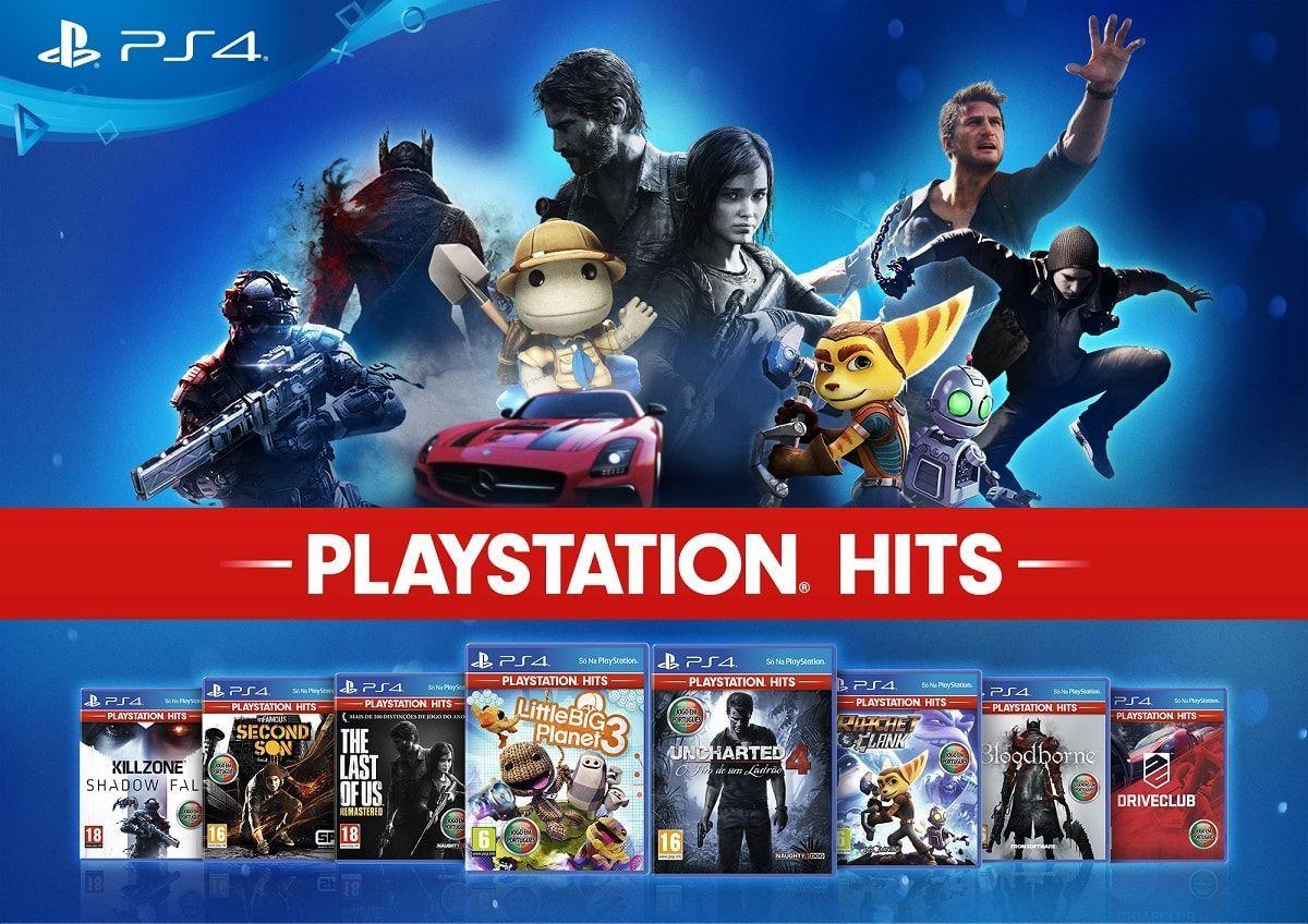 Juegos PlayStation Hits - PS4 (Carrefour)